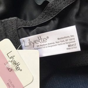fbab0bafec lilyette Intimates   Sleepwear - NWT Lilyette 417 Embroidered Minimizer Bra  Black